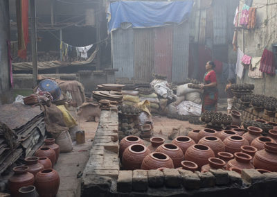 Pottery industry